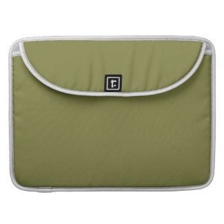 Custom Solid Color Woodbine Green - High End Color Sleeve For MacBooks