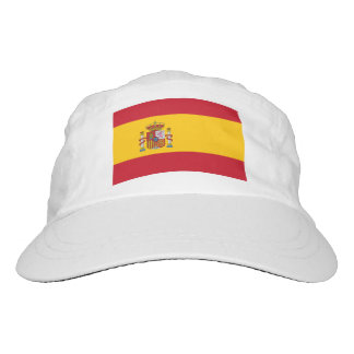 Custom Spanish flag hat   Knit or woven sports cap
