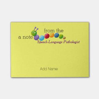 Custom Speech-Language Pathologist Post-it® Notes