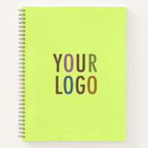 Custom Spiral Notebook Business Logo No Minimum
