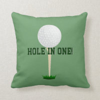 Custom Sports Pillow - Golf Throw Pillow