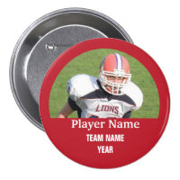 Custom sports team photo - RED Button