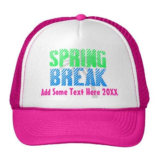 Custom Spring Break Trucker Hat