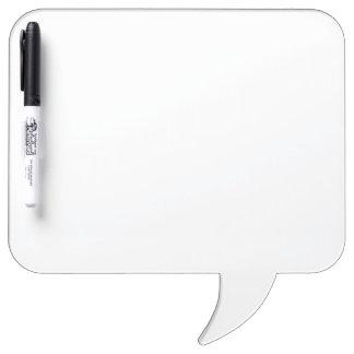 Custom Square Speech Bubble Dry Erase Board