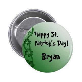Custom St. Patrick's Day Button