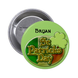 Custom St. Patrick's Day Buttons