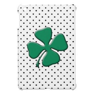 Custom St. Patrick's Day Green Clover iPad Mini Covers
