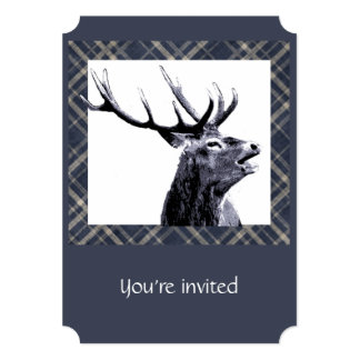 Custom Stag Bachelor Party Invite