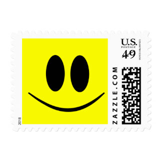 Custom Stamp with Happy Smiley Face