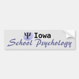 Custom State School Psychology Bumper Sticker
