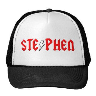 custom STEPHEN rock and roll shirt Trucker Hat