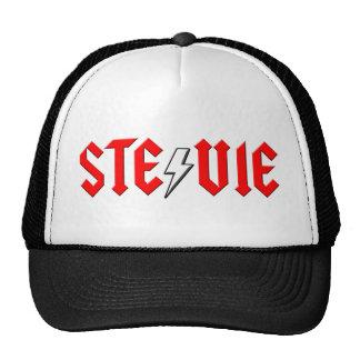 custom STEVIE rock and roll shirt Mesh Hats