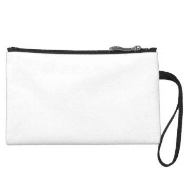 Beach Themed Custom Suede Clutch Bag