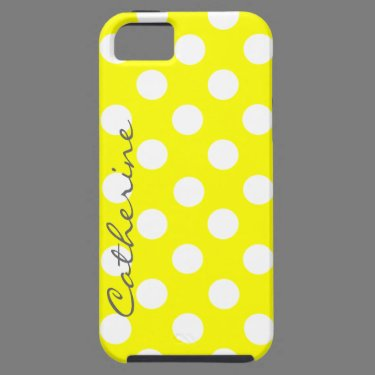 Custom Sunny Polka Dot iphone 5 Case
