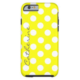 Custom Sunny Polka Dot iPhone 6 case