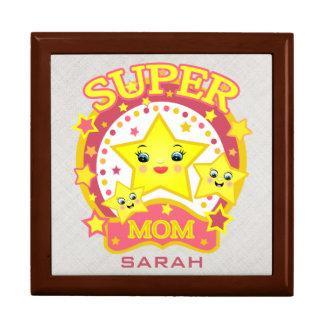 Custom Super Star Mom Mother's Day Keepsake Box