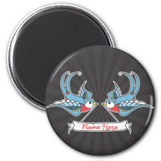 Custom Swallows Magnet