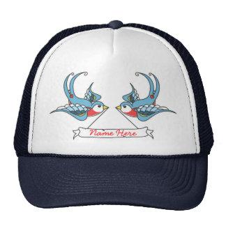 Custom Swallows Trucker Hat