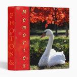 Custom Swan Photo Binder