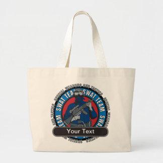 Custom SWAT Team Large Tote Bag