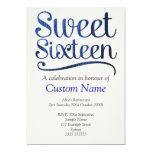 Custom Sweet 16 Announcements