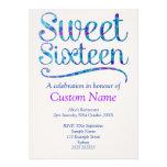 Custom Sweet 16 Custom Invitation