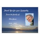Custom Sympathy Thank You Card