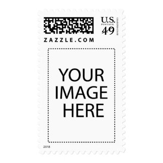 Custom T-Shirts And more Image Template Postage Stamps
