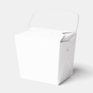 Custom Take-Out Favor Box
