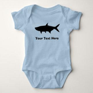 Custom Tarpon template Baby Bodysuit