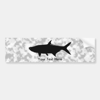 Custom Tarpon template Bumper Sticker