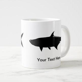 Custom Tarpon template Giant Coffee Mug