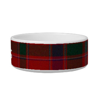 Custom Tartan Plaid Pet Bowl