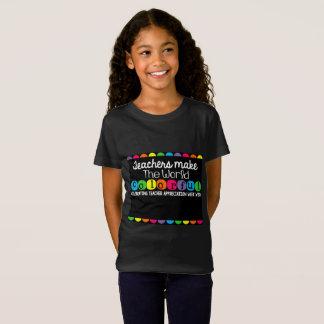 Custom Teacher Appreciation T-Shirt