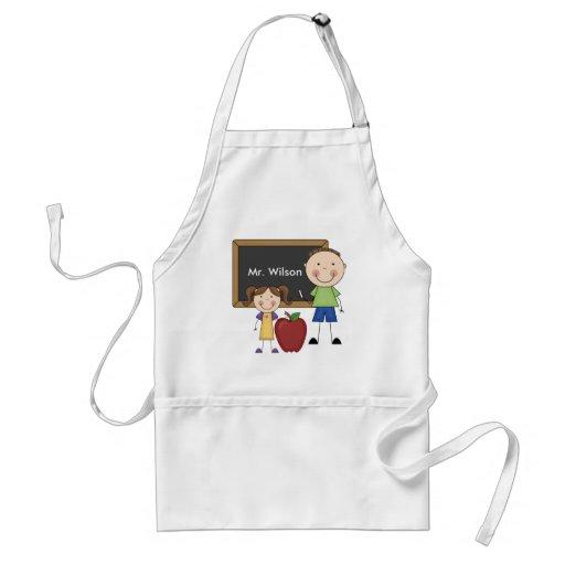 Custom Teacher Gift Adult Apron
