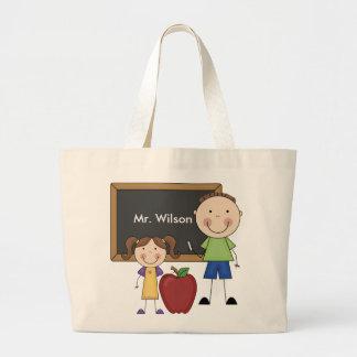 Custom Teacher Gift Jumbo Tote Bag