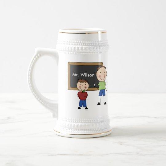 Custom Teacher Gift Beer Stein