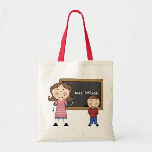 Custom Teacher Gift Budget Tote Bag