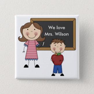 Custom Teacher Gift Button