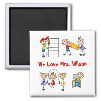 Custom Teacher Gift Magnet