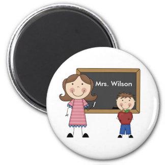 Custom Teacher Gift 2 Inch Round Magnet