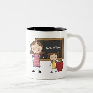 Custom Teacher Gift Coffee Mugs