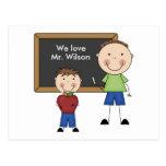 Custom Teacher Gift Post Card