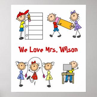 Custom Teacher Gift Poster