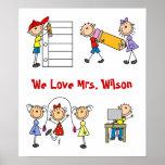 Custom Teacher Gift Posters