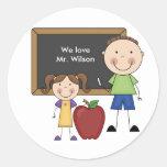 Custom Teacher Gift Sticker