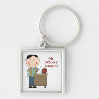 Custom Teacher Keychain