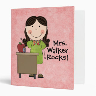 Custom Teacher Notebook Binder