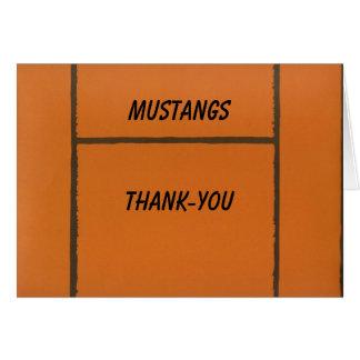 Custom Team Basketball Thank-you or Blank Notecard Greeting Card
