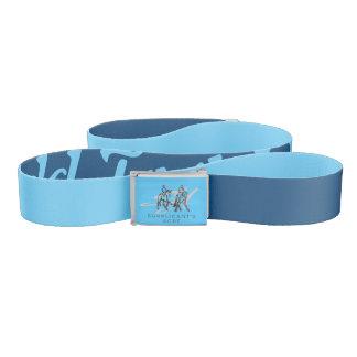 Custom Team Colors and Logo Belt